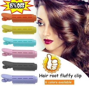 2Pcs Rubber Magic Hair Care Rollers Volumizing Hair Root Clip Curler Roller Wave Fluffy No Heat Hair Curling Styling DIY Tool
