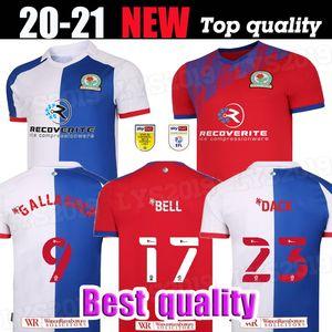 20 21 Blackburn Rovers Fussball Jerseys Home 2020 2021 Camisetas de Fútbol Holtby Brereton Dack Gallagher Lenihan Football Shirts Kit Thailand