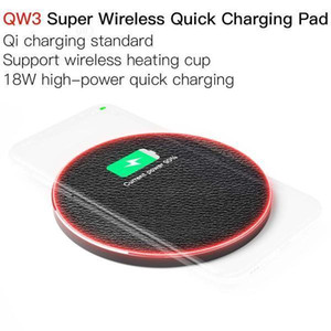 JAKCOM QW3 Super Wireless Quick Charging Pad New Cell Phone Chargers as thick glass candle jar smart watch action camera 4k
