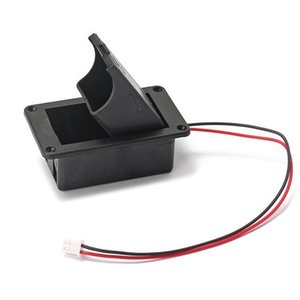 Consumer Electronics 1PC 9V Battery Holder Case Box Cover For Guitar Bass Active Pickup Connector Battery Storage Boxes