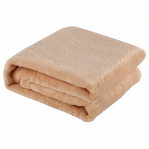 Coral Fleece Blanket Solid Color Home Bed Sofa Blanket Soft Warm Comfortable Sleeping Skin Friendly Cheap Blankets Online Ruffle Throw 7dV0#