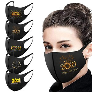 2021 Black personalized print Face mask Washable Breathable mask outdoor sport Windproof dust-proof Cycling Masks Designer Masks T9I001038