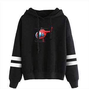 New 2020 Tony Lopez Merch Elicopter hoodies women print Harajuku Sweatshirts Hand sleeve Hooded Sweatshirt Unisex Tracksuit