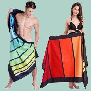Zipsoft большой размер 90x170 см микрофибра печатный фитнес йога пляжное полотенце ozxa