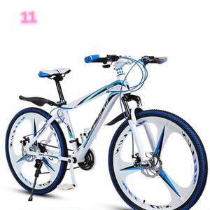 Mountainbike Volwassen Mannen en vrouwen 21 polegadas 21 Velocidade Dubbele Schijfrem Stalen Stalen Frame FIETS FIPERS