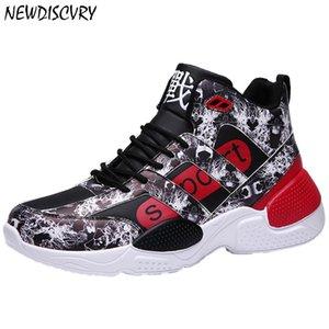 NEWDISCVRY 2020 Fashion Men flach Turnschuhe Marke Breathable Frauen Schuhe beiläufige bequeme schicke Frauen Chunky Sneakers