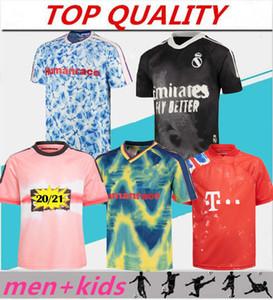 men + kids kit 2020 2021 Human Race Manchester United Bayern Real Madrid Arsenal soccer maglie camiseta de fútbol 20 21 maillot de foot Maglia da calcio HRFC