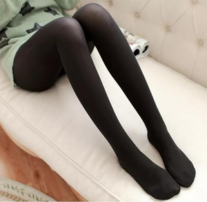 10Pc lot Classic Sexy Women 120D Opaque Footed Tights Pantyhose Thick Tights Stockings Women Spring Summer Fashion
