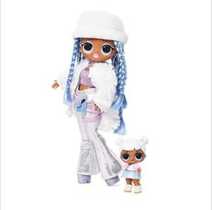 Лол. Сюрприз! Боже мой. Мода куклы сестры кукла зима диско 24K Д.Дж. Мода куклы и сестра девушки качество игрушек высокого