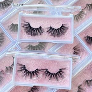 25mm Mink Eyelashes In Bulk Wholesale Lashes Eyelash 3D Mink Lashes Packaging Boxes Fluffy Fake Eyelashes Magnetic