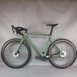 Aero Disque Custom Desgin Toray Toray Tenray Fibre Fibre Complete Bike-X16 Modèle avec groupe R8020