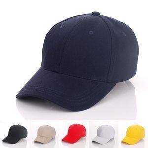 6 컬러 디자이너 일반면 사용자 정의 야구는 성인 남성 부직포 곡선 스포츠 모자 빈 솔리드 골프 썬 바이저에 대한 조정 Strapbacks 캡