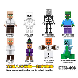 MINECRAFT My world Building Block Man creeper Game Peripheral Blocks 2020 hot selling wholesale and retail