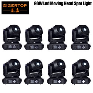 New 90W LED Spot Moving Head Lights DMX512 , Led Moving Head Gobo Prism Function Electronic Focus,DJ Spot Light mini dj diso moving