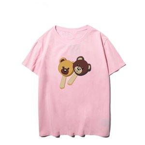 New ladies UK designer shirt summer brand T-shirt ladies casual style shirt T-shirt cotton short-sleeved T-shirt size s-xxl #53