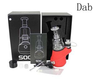 peak smoking device electric nail dab rig portable wax concentrates vaporizer water bong filter system SOC e cig mod vaporizer set 2020