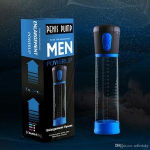 Enhancer elétrica Bomba Adulto Para Vacuum Toy Prolong Gays Penis Enlarger Alargamento Extender Sex Penis Bomba Homens Automatic Uibxa
