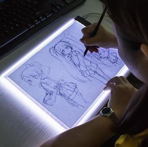 지도 그리기 복사 패드 보드 아기 장난감 교육 완구 창의력 어린이 3 레벨 디 밍이 가능한 A5 크기 복사 보드 BWA1603 회화