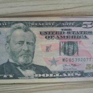 01 billets d'argent enfants jouets pour prétender apprentissage formation film faux argent comptage de 50 accessoires américains pkosn