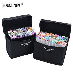 Segnalini TouchNew per disegnare indicatori di alcolici Doppia testa Schizzo indicatore per Sketchingt Painting Blender Supplies 201225