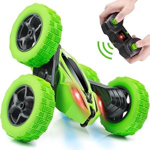 Gesture High Speed Nitro Rc Car 4wd Remote-Controlled Machine Degree Rotating Sided Flip Vehicle Remote Control Stunt Car Drift 201124