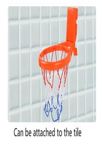 Малыша Ванна Игрушки Детского баскетбол Хооп Ванна вода Play Набор для Baby Girl Boy с 3 Balls два фиксированными способами wmtyLw infant2005