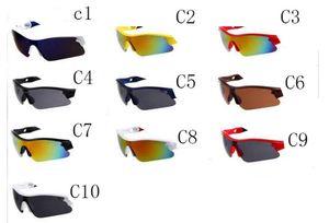 Sommer Neue Männer Fahrrad Glas Nizza Sport Sonnenbrille Reiten Fahren Sonnenbrille Frau Radfahren Blende Farbe Gläser 10 Farben Kostenloser Versand