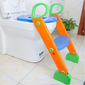 Kids Potty Training Seat with Step Stool Ladder for Child Toddler Toilet Chair LJ201110
