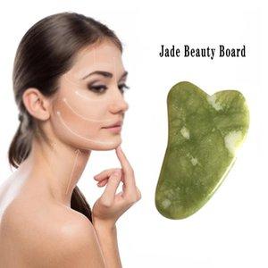 Sağlık Doğal Jade Kazıma Yüz Masaj Basınç Tedavisi Kazıyıcı Sağlık Güzellik Masaj Aracı İçin Yüz