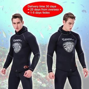 Areyourshop Fitness 5MM néoprène Hommes anti-uv Costume de plongée hiver chaud marine Natation Wetsuit articles de sport Accessoires Pièces