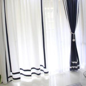 Graceful Northern - Style du Nord Simple Salon Moderne Study Bay Window Salon Fini Sous Rideau de vent
