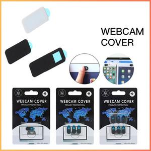 Webcam Cover Затвор Магнит Ползунок Пластик для iPhone Ноутбук Камера Веб ПК Смартфон Универсальная Универсальная Наклейка