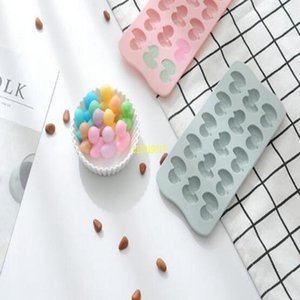 Free Shipping 15 Even Silica Gel Little Duck Chocolate Mold Ice Lattice Mold Resistant To High Temperature Cake Mold