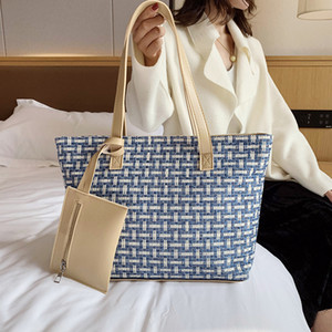Women's large-capacity tote bag 2019 new trend fashion shoulder bag slung big bag