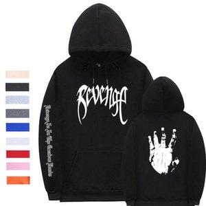 Xxxtentacion Men Women Pullover Sweatershirts Sweatshirts Rapper Hooded Hip Male Women Hoodies C0929 Revenge Streetwear Hop Tgvue
