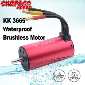 Surpass Hobby Waterproof 3665 Brushless Motor 5.0mm 1800KV 2300KV 3100KV 80A ESC for 1 10 2S 3S RC Drift Racing Off-road Car