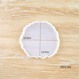 DIY Ola Molde de silicona con forma irregular Taza de bandeja de bandeja Joyería de montaña Maquillaje Molde Easy Demoulding Caliente Caliente Venta 4 5QZ G2
