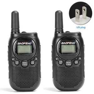 2pcs Camping Team Mini Rechargeable Kid Walkie Talkie Long Distance 2 Way Radio Noise Reduction 16 Channel Hiking Adventures1