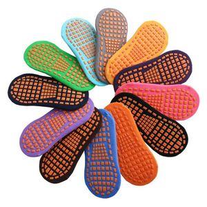 Socken Trampolin Socken Point Kleber Rutschfeste Boden Socke Baumwolle Kinder Early Education Kinder Erwachsene Home Yoga Socke GWB2757