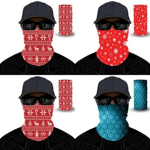 Christmas Thin Masks Ghost Festival Magic Scarf Polyester Windbreak Neck Gaiters Protective Outdoor Riding Anti Dust 6 5yl G2