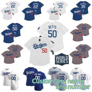 2020 WS 50 Mookie Betts Dodgers Jersey David Price Cody Bellinger Corey Seager Justin Turner Hernandez Clayton Kershaw Walker Buehler Muncy
