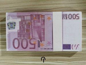 Nuevos juguetes 500 euros Billetes Juego Monedas Children's Toys Incentive Coins Cuento para niños Props Aprendizaje Monedas