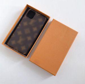 Роскошная матовая кожаная половина - завернутый 12 iPhone Case Водонепроницаемый осень - устойчивые дизайнеры iPhone Case 12 11 Pro Max X XS 7P 8 плюс 2110206B