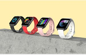 2020 new ISO Android Smart Watch Pedometer Heart Rate Blood Pressure Blood Oxygen Information Call Reminder Sports Bracelet cellphone