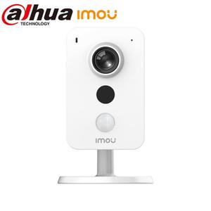 Dahua IP-камера 4MP WiFi PIR обнаружение внешнего аварийного наблюдения камеры IMou Cube Home Security встроены в MicsPeaker двусторонний
