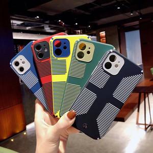 Silicon para Apple iPhone 11 12 Pro Max Case Soft TPU Explorer protector Military Anti Fall iPhone X XS Max XR 7 8 Plus Se 2020 Funda Dura