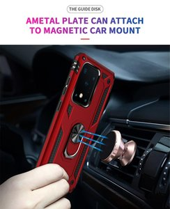 Armor For Samsung Galaxy S20 Fe Hard Case Car Holder S20 Fan Edition Magnetic Ring Galaxy Note 20 Ultra M31s M51 A21 jllUoT net_store