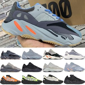 New Best 700 v1 v2 MNVN kanye west running shoes carbon blue Tie-dye OG Solid Grey Orange reflective mens sneakers womens trainers