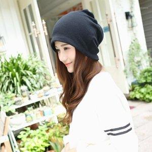 NOUVELLES FEMMES CLULLIES SOISSONS Automne Hiver Rouge Noir Gris Kaki Coffee Bonnet Coréen Adulte Fashion Hat Cap pour Femme1