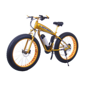 48V lithium battery snowmobile mountain bike electric vehicle off-road 26 inch moped aluminum alloy super wide 4.0 tires